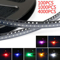 0603 SMD LED Red Green Blue Yellow White Orange Purple 7Colours Licht A3 A3