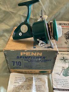 Vintage Penn Reels,Vintage Penn 710 Spinfisher,Penn Reels MINT In Box