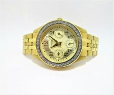 Citizen Gold Tone Ladies Multi function Casual Watch