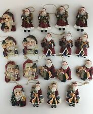 19 Santa Claus Christmas tree ornaments