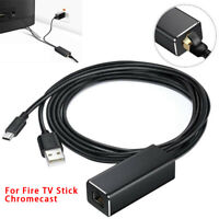 Ethernet Adapter Micro USB to RJ45 Lan Network Card for Fire TV Stick Chromecast