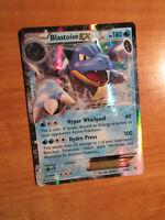 NM Pokemon BLASTOISE EX Card GENERATION Set 17/83 XY 20th Anniversary Ultra Rare