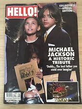 HELLO MAGAZINE NO.1081 Michael Jackson  Souvenir Edition