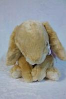"Large Tan Commonwealth Bunny Rabbit 19"" Plush Soft Toy Stuffed Animal"