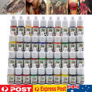 Professional Tattoo Ink Monochrome 40 Colors Set Pure Plant Tattoo Pigment Kit