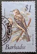 Stamp Barbados 1979 $1 Pee Whistler Used
