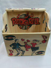 HANDMADE VINYL RECORD BOX 33RPM