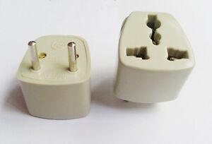 1x 250V 10A US UK EURO AU TO EURO EU Travel Wall AC Power Plug Adapter Converter