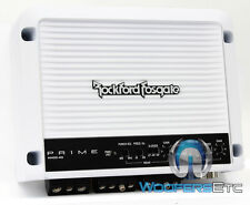 ROCKFORD FOSGATE M400-4D PUNCH AMP 4-CH MARINE BOAT SPEAKERS COMPONENT AMPLIFIER