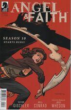 Angel & Faith #1 comic book season 10 Tv series show Joss Whedon Buffy