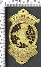 Plaque de vélo ancienne attribué, Labastide de Ferou (Ariège)