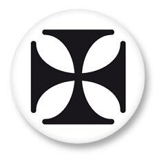 """Pin Button Badge Ø25mm 1"""" Religion Religious Religieux Dieu Croix de Malte"""