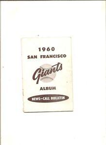 1960 San Francisco Call-Bulletin player album