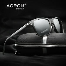 Men Polarized Photochromic Sunglasses Mirrored Driving Sun Glasses Retro Eyewear