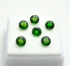 5.50CTW Set of 6 - Russian Chrome Diopside 6mm Round - Chrome Diopside Gemstones