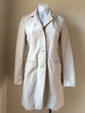 Made in Italy of Benetton Size XS TAGLIA Women's Wool Blend Cotton Coat