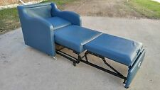 Blue-Teal Sleeper Chairs Home Hospital Nursing Medical