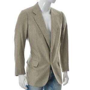 Stefano Ricci Pedro Muñoz Men's Vintage Retro Giacca Blazer Jacket Size 56 Wool