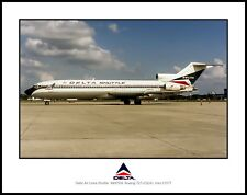 Delta Air Lines Shuttle Boeing 727 11x14 Photo (I135LGJM11X14)