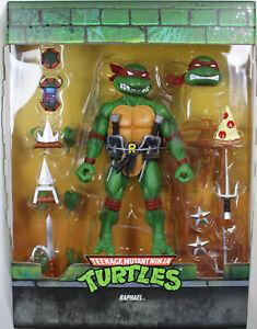 """Teenage Mutant Ninja Turtles ~ 7"""" ULTIMATE RAPHAEL ACTION FIGURE ~ Super 7"""