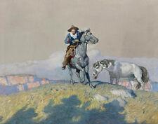 Newell Convers Wyeth Fall Back Canvas Print 16 x 20    #3369