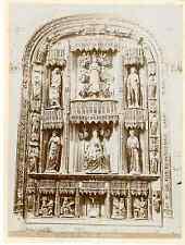 Espagne, Burgos, Iglesia de San Gil Abad  Vintage albumen print Tirage albumin