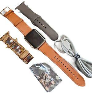 Apple Watch Series 1 Aluminum 42mm Gold Ion-X Glass Retina Display Model: A1803
