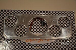 1937 1938 37 38 Chevy Car Aluminum Dash Insert street rod coupe gauge trim