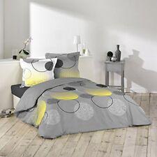 Douceur D'intérieur Hoopy Parure avec 2 taies D'oreillers coton Multicolore 26