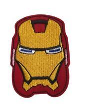 Iron Man Head Mask Cosplay Avengers Superhero Iron On Patch