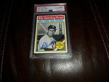 1976 PSA/DNA TOPPS #347 Ted Williams Boston RED SOX AUTO SIGNED