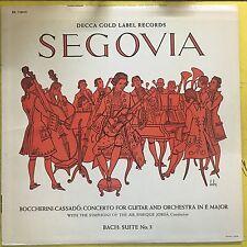 ANDRES SEGOVIA LP Boccherini-Cassado (VG+) decca dl-710043 stereo