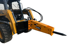 Montana Mb1000 Hydraulic Concrete Breaker Hammer Attachment Fits Skid Steer
