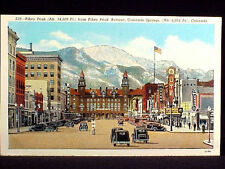 CO - COLORADO SPRINGS - PIKES PEAK AVE. 1930-1944