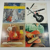 Record LP Lot of 4 - Chet Atkins Country Rock Folk Rockabilly Mr. Guitar