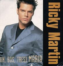 CD: RICKY MARTIN :  ( Un, Dos, Tres ) Maria ( CD Single )