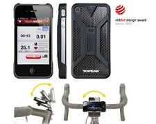 Topeak RideCase for iPhone 5/5S & SE with Handlebar and Stem Cap Mounts - Black