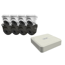 HIKVISION CCTV SYSTEM HILOOK  4CH 8CH 16CH DVR DOME NIGHT VISION CAMERA FULL KIT