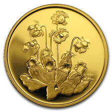 2009 Canada Proof Gold $350 Pitcher Plant (w/Box & COA)