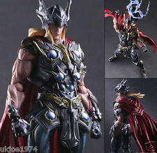 """Marvel Universe Avengers Variant Play Arts Kai THOR 10"""" Action Figure Statue Toy"""