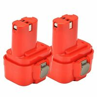 2x 9.6V Nicd Battery for Makita PA09 9120 9122 192596-6 193977-7 9.6Volt Drill