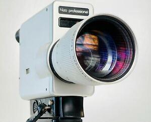 Braun Nizo professional super 8 camera - Film Tested / Fully Functional