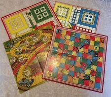Snakes Ladders Cardboard Vintage Board & Traditional Games