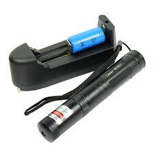 Grün Laserpointer Pen mit Ladegerät und Akku High Power Beam