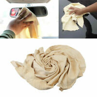 Natural Chamois Leather Car Washing Cleaning Cloth Drying Towel H Absorbent I5L0