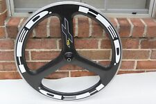Front HED 3 H3 Plus 25mm Tri spoke Wheel Clincher 700c