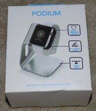 New Optium Podium Apple Watch Stand for 38mm & 42mm Aluminum & Rubber Mount
