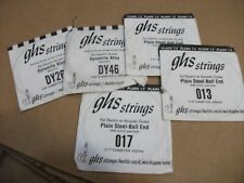 GHS Precision Flatwound GUITAR Strings ASSORTED +
