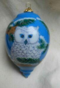 Pier 1 Snow Owl Li Bien Christmas Ornament
