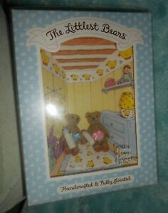 Gund The Littlest Bears #7008 The Twins Handcrafted & Fully Jointed